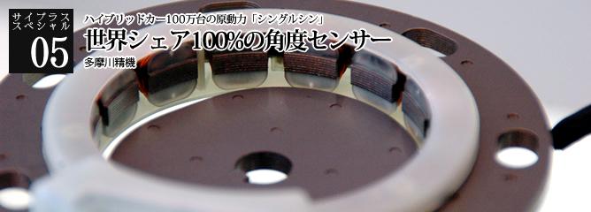 [サイプラススペシャル]05 世界シェア100%の角度センサー ハイブリッドカー100万台の原動力「シングルシン」